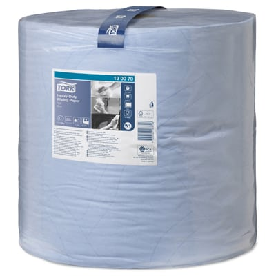 Tork® Blue Heavy-Duty Wiping Paper