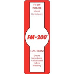 FM-200 Sign