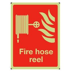 Fire Equipment Signs - Fire Hose Reel (Photoluminescent)