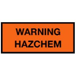 Warning Hazchem Sign (C1)