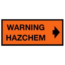 Warning Hazchem Sign (C2)