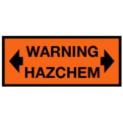 Warning Hazchem Sign (C3)