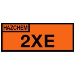 Hazchem 2XE Sign (Type A)