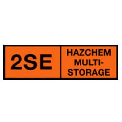 2SE Hazchem Multi-Storage Sign (Type B)