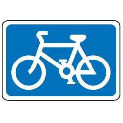 Traffic Signs - Bike Symbol Sign