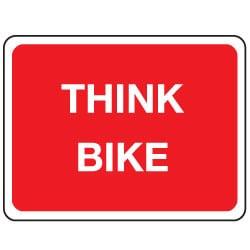 Think Bike Sign