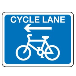 Traffic Signs - Cycle Lane Sign