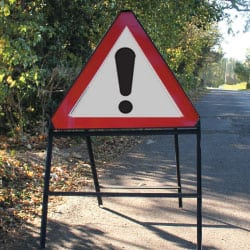 Beware Road Traffic Sign