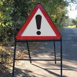 Beware Road Traffic Sign
