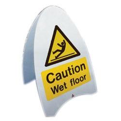 Caution Wet Floor Free Standing Sign