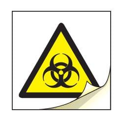 Biological Symbol Safety Labels