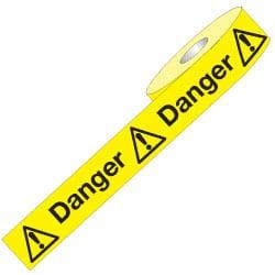 Non Adhesive Barrier Tape - Danger