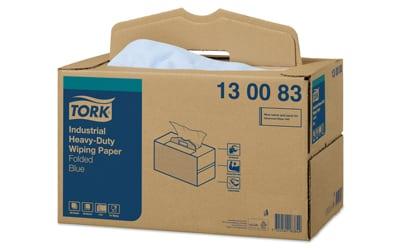 Tork® Heavy-Duty Industrial Wiping Paper