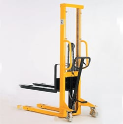 Hydraulic Stacker with adjustable forks