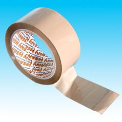 Buff Packaging Tape