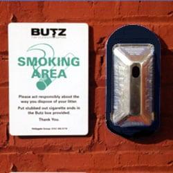 Butz Cigarette Butt Bin - Starter Pack