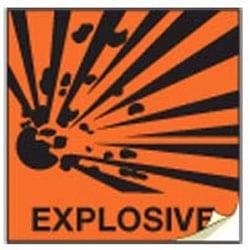 Explosive CHIP Labels