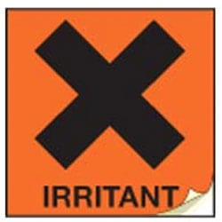 Irritant CHIP labels