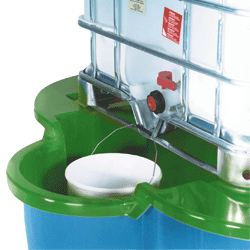 Single Bundstand with Bucket Facility