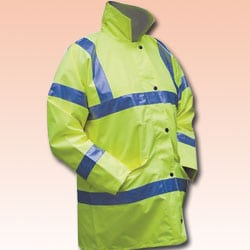 Yellow High Visibility Coat