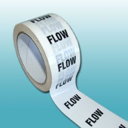 Flow Pipe ID Tape - 50mm x 33M