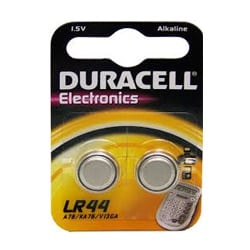 Duracell LR44 Electronics Batteries
