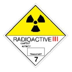 Radioactive III Labels