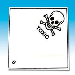 Toxic 6 Labels
