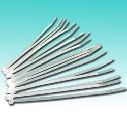 Natural Cable Ties - Pack of 100 - Various Sizes