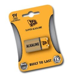 JCB Super Alkaline Batteries