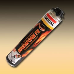 Soudafoam Fire Retardant PU Gun Foam - 750ml