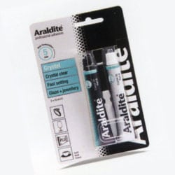 Araldite Crystal - 2 x 15ml tubes