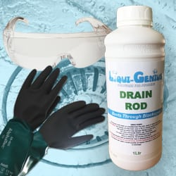 Liqui-Genius Drain Cleaning Kit
