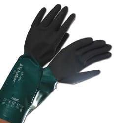 Heavy Duty Protection Semi Gauntlet Gloves