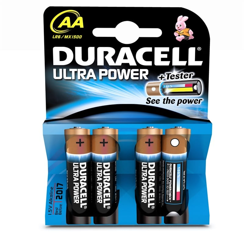 Duracell Ultra Power AA - Pack of 4