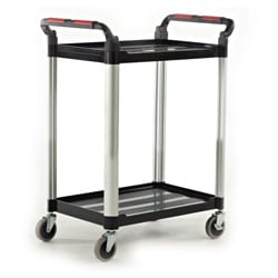 Proplaz 2 Shelf Hardwearing Trolley