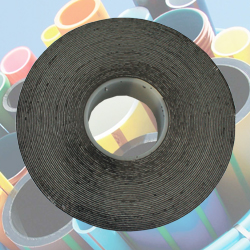 Black Self Fusing Bonding Amalgamating 100psi Pipe Tape
