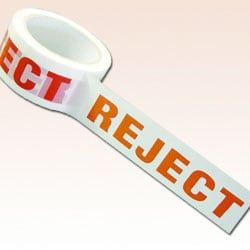 Packaging Tape - Pre Printed - Reject