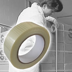 Cross Weave Reinforced Strapping Tape