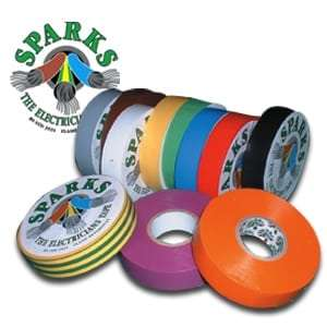 Sparks Electrical PVC Tape