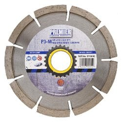 Mortar Raking Diamond Blade - Premier P3-M