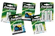 Rechargeable Energizer Batteries