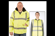 High Visibility - 4-in-1 Jacket