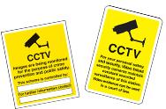 CCTV Signs