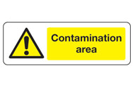 Contamination Area Signs