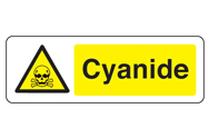 Cyanide Signs