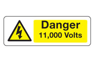 Danger Voltage Signs
