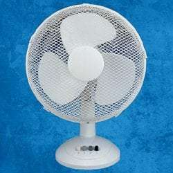 3 Speed 12 inch Desk Fan
