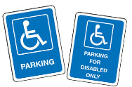 Disabled Parking Signs