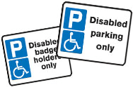 Disabled Car Park Signs